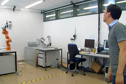 Robotic Arm Can Catch Objects in Fractions of a Second