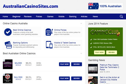 Australian Online Casino Gambling Site Does Responsive Design Well