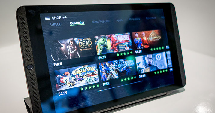 Nvidia's Shield Tablet a Powerful New Force in Mobile Gaming
